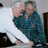 5. Maksymiuk z prof. dyrgentury Bogusławem Madeyem (2003r)