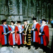 4. Nadanie tytułu Doctor of Letters w Strathclyde University