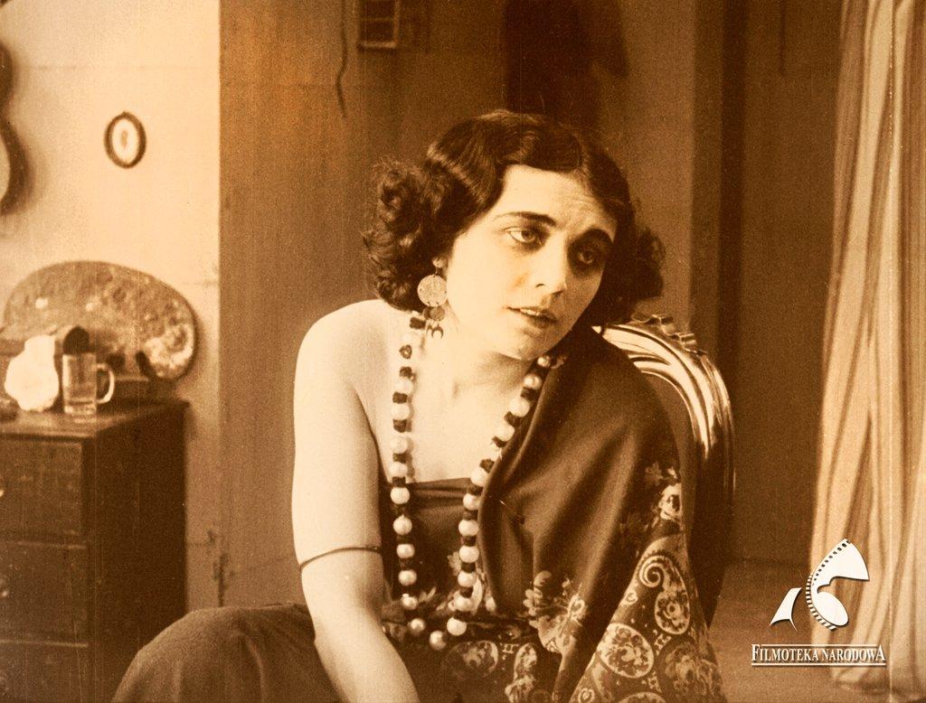 Pola Negri w filmie Mania