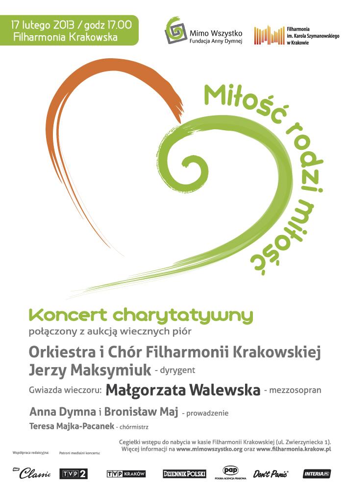 Koncert charytatywny w Krakowie